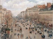 1686_100х80_К. Писсарро - Бульвар Монматр в Париже