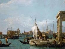 1613_100х140_А.Каналетто - Догана в Венеции