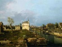 1615_120х67_А.Каналетто - Порта Портельо, Падуя