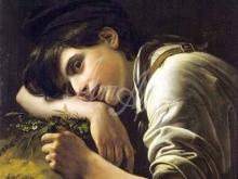 2554_55х44_О.А. Кипренский - Молодой садовник. 1817