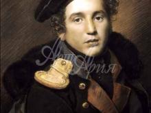 2556_60х43_О.А. Кипренский - Портрет Петра Алексеевича Оленина. 1813