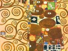1176_100х61 Климт Г. - Левая часть триптиха Дерево жизни