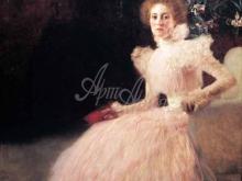 1376_60х60_Г. Климт - Портрет Сони Книпс