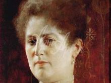 1636_70х53_Г. Климт - Женский портрет