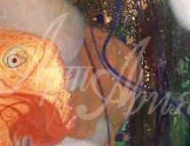 1640_90х32_Г. Климт - Золотая рыбка
