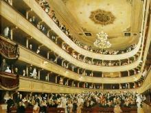 1642_90х79_Г. Климт - Зал старого дворцового театра в Вене