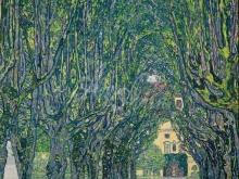 1643_90х88_Г. Климт - Аллея в парке дворца Каммер