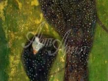 1649_100х64_Г. Климт - Ундины, серебряные рыбы