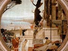 1652_100х79_Г. Климт - Театр в Таормине (фреска)