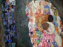 1656_110х100_Г. Климт - Смерть и Жизнь