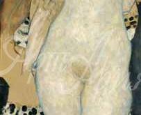 1657_120х41_Г. Климт - Адам и Ева
