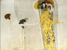1659_120х72_Г. Климт - Бетховенский фриз, Страдания человечества