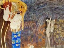 1660_150х50_Г. Климт - Бетховенский фриз - Враждебные силы