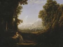 1212_50x33 Клод Лоррен - Пейзаж с кающейся Марией Магдалиной