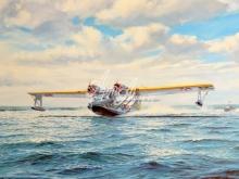 3131_65x40 Кросс - Полет над морем