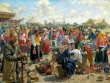 2452_65х43_И.С.Куликов - Ярмарка. 1910