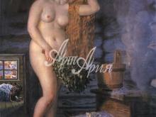 2043_90х79 Кустодиев Б.М. - Русская Венера