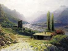 2477_60х41_Л.Ф. Лагорио - Кавказское ущелье