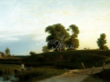 2481_60х37_Л.Ф. Лагорио - Вид на Лахту в окрестностях Петербурга