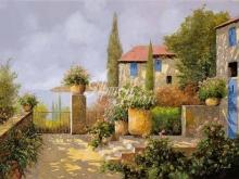 Л006_80х111_Гвидо Борелли - Живописный пейзаж 2
