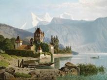 Л034_80х115_Вильгельм Т. Нокен - Замок Оберхофен