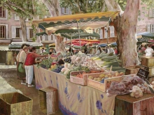 Л039_83х100_Гвидо Борелли - Овощной рынок