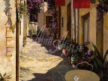 Л045_133х100_Гвидо Борелли - Старинная улочка