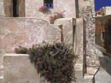 Л048_120х82_Гвидо Борелли - Дома в Санторини