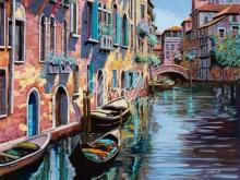 Л098_100х121_Гвидо Борелли - Венеция 9