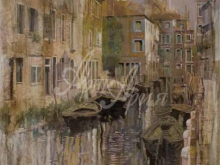 Л102_121х90_Гвидо Борелли - Золотая Венеция