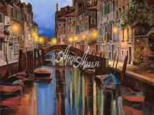 Л103_100х133_Гвидо Борелли - Рассвет в Венеции