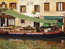 Л107_90х136_Плавучий рынок в Венеции
