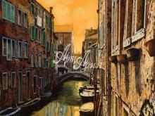 Л118_100х121_Гвидо Борелли - Венеция. Утро