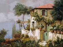 Л176_Гвидо Борелли - Желто-зеленый дом