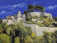 Л191_86х120_Гвидо Борелли - Пейзаж с видом на замок