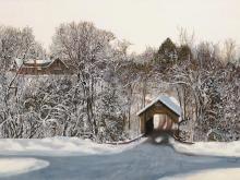 Л205_80х120_Зимний пейзаж