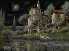 Л240_Гвидо Борелли - Ночной пейзаж