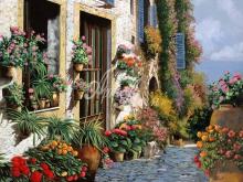Л245_Гвидо Борелли - Итальянский дворик