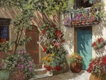 Л262_Гвидо Борелли - Цветы на заднем дворе