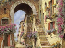 Л270_Гвидо Борелли - Итальянская улочка 8