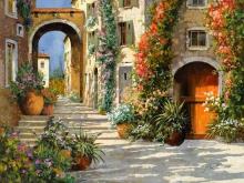 Л286_Гвидо Борелли - Итальянская улочка 3