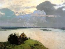 2078_90х64 И. И. Левитан -1894 Над вечным покоем