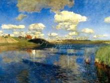 2409_60х42_И.И. Левитан - Озеро. Русь