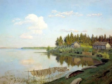 2413_70х47_И.И. Левитан - На озере