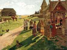2454_65х49_В.М.Максимов - В усадьбе князя