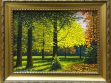 Осень. Холст, масло.18х24 см (4300руб)
