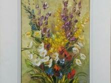 Полевые цветы. Картон, масло 20х15см (2500руб)