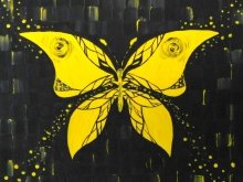 Бабочка. Холст, масло. 40х50см (4500руб)