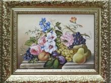 Натюрморт с цветами. Холст, масло. 30х40см (9000руб)