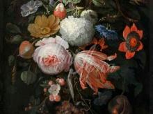 1480_85х66_Абрахам Миньон - Висящий букет цветов